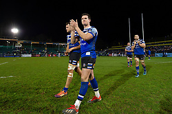 Freddie Burns of Bath Rugby acknowledges the crowd after the match - Mandatory byline: Patrick Khachfe/JMP - 07966 386802 - 30/12/2018 - RUGBY UNION - The Recreation Ground - London, England - Bath Rugby v Leicester Tigers - Gallagher Premiership Rugby