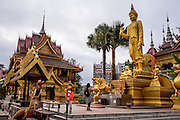 A large Buddhist temple in Xishuangbanna, China.