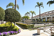Gardens and Reflecting Pool at the Richard Nixon Library and Museum