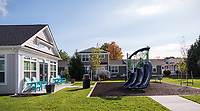 Exterior image of Riverwoods at Denton Apartments in Maryland by Jeffrey Sauers of Commercial Photographics, Architectural Photo Artistry in Washington DC, Virginia to Florida and PA to New England