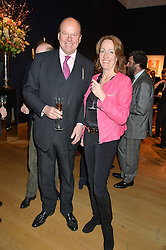 MARK & LADY ALEXANDRA ETHERINGTON at a party to celebrate the publication of Interiors For Living by Joanna Wood held at Christie's. 8 King Street, St.James's, London on 2nd March 2015.