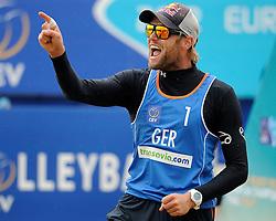 03-06-2012 VOLLEYBAL: EK BEACHVOLLEYBAL FINAL: SCHEVENINGEN<br /> Julius Brink<br /> &copy;2012-FotoHoogendoorn.nl