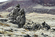Iceland, snaefellsnes peninsula Volcanic rock formations