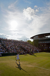 LONDON, ENGLAND - Friday, June 26, 2009: Tommy Robredo (ESP) during the Gentlemen's Singles 3rd Round match on day five of the Wimbledon Lawn Tennis Championships at the All England Lawn Tennis and Croquet Club. (Pic by David Rawcliffe/Propaganda)