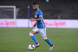 05.05.2019, Stadio San Paolo, Neapel, ITA, Serie A, SSC Napoli vs Cagliari Calcio, 35. Runde, im Bild Lorenzo Insigne (SSC Napoli) // Lorenzo Insigne (SSC Napoli) in action. during the Seria A 35th round match between SSC Napoli and Cagliari Calcio at the Stadio San Paolo in Neapel, Italy on 2019/05/05. EXPA Pictures © 2019, PhotoCredit: EXPA/ laPresse/ Cafaro<br /> <br /> *****ATTENTION - for AUT, SUI, CRO, SLO only*****