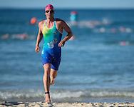 Eyeline 1000 Swim. 2013 Noosa Triathlon Festival. Cairns, Queensland, Australia. 01/11/2013. Photo By Lucas Wroe