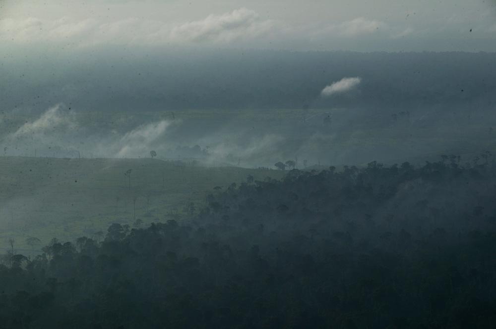 Dec. 9, 2003. Above Para State, Brazil. ©Daniel Beltra