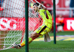 Richard O'Donnell of Rotherham United looks dejected after Milan Djuric of Bristol City scores a goal - Rogan Thomson/JMP - 04/02/2017 - FOOTBALL - Ashton Gate Stadium - Bristol, England - Bristol City v Rotherham United - Sky Bet Championship.