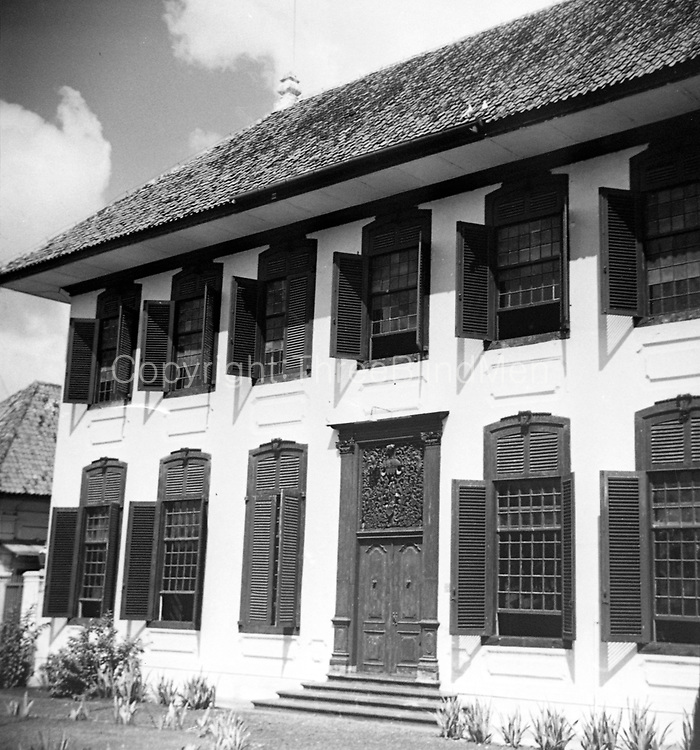 National Archives of Indonesia Building (Gedung Arsip Nasional) 2013. The former house of R. de Klerk (1777-1780). Jakarta - Indonesia.