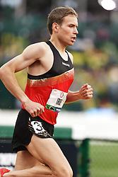 men's 500 meters, qualifying, Ben True leads Ben True,