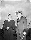 1955 - 26/03 Golf at Royal Dublin Golf Club, Dollymount