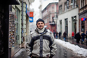 Elvis Causevic - who was a Bosnian refugee child I met in 1992 at the Varazdin refugee camp in Croatia (he was 6 years old) - in Sarajevo, his new home after the war. Elvis originally came form the city of Foča and fled the war in 1992 with his mother, sister and grandmother for 18 days through the Bosnian mountains till they reached a save place at the refugee camp Varazdin in Croatia where they stayed for 3 years before leaving to Munich in Germany.