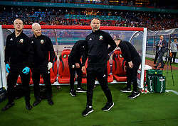 NANNING, CHINA - Thursday, March 22, 2018: Wales' new manager Ryan Giggs before the opening match of the 2018 Gree China Cup International Football Championship between China and Wales at the Guangxi Sports Centre. (Pic by David Rawcliffe/Propaganda)