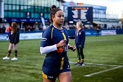 Jade Shekells of Worcester Warriors Women - Mandatory by-line: Robbie Stephenson/JMP - 01/12/2019 - RUGBY - Sixways Stadium - Worcester, England - Worcester Warriors Women v Bristol Bears Women - Tyrrells Premier 15s