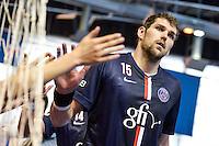 Jakov Gojun  - 12.04.2015 - Paris Handball / Vezprem - Champions League<br />Photo :  Andre Ferreira  / Icon Sport