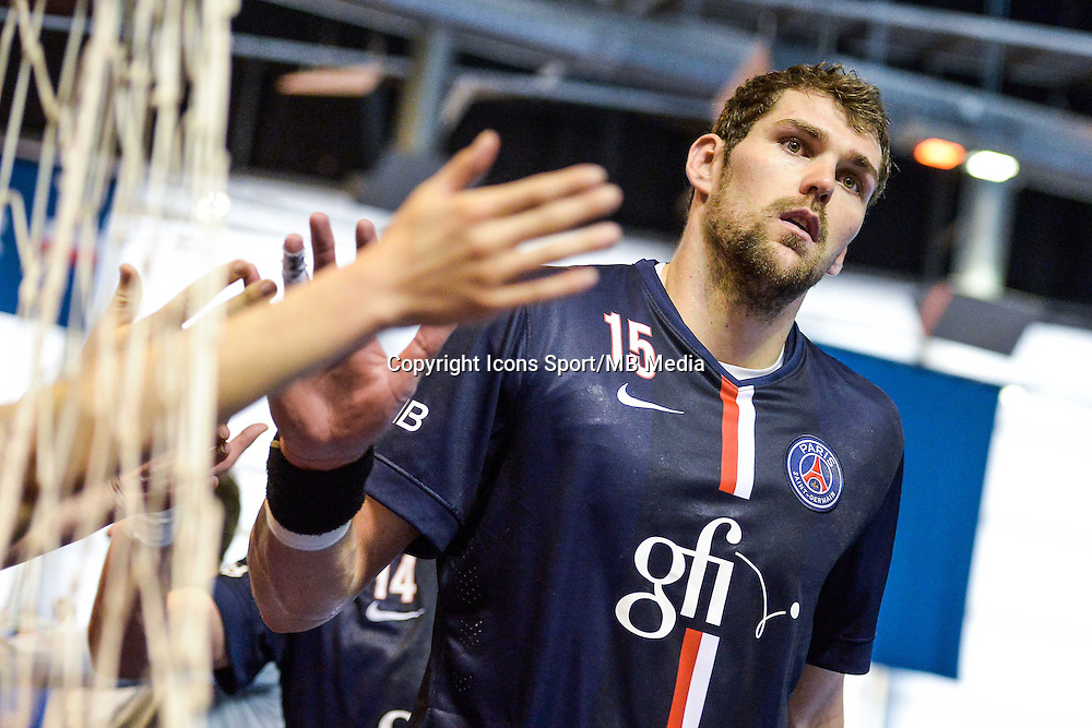 Jakov Gojun  - 12.04.2015 - Paris Handball / Vezprem - Champions League<br />