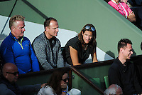 Amelie MAURESMO coach de Andy MURRAY  - 25.05.2015 - Jour 2 - Roland Garros 2015<br />