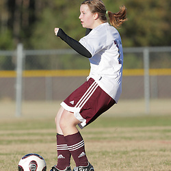 2 December 2008: St. Thomas Aquinas  Dana Duplantier (#17) during the St. Thomas Lady Falcons 5-2 loss to Country Day in a non-district soccer match at Falcons Soccer Field in Hammond, LA.