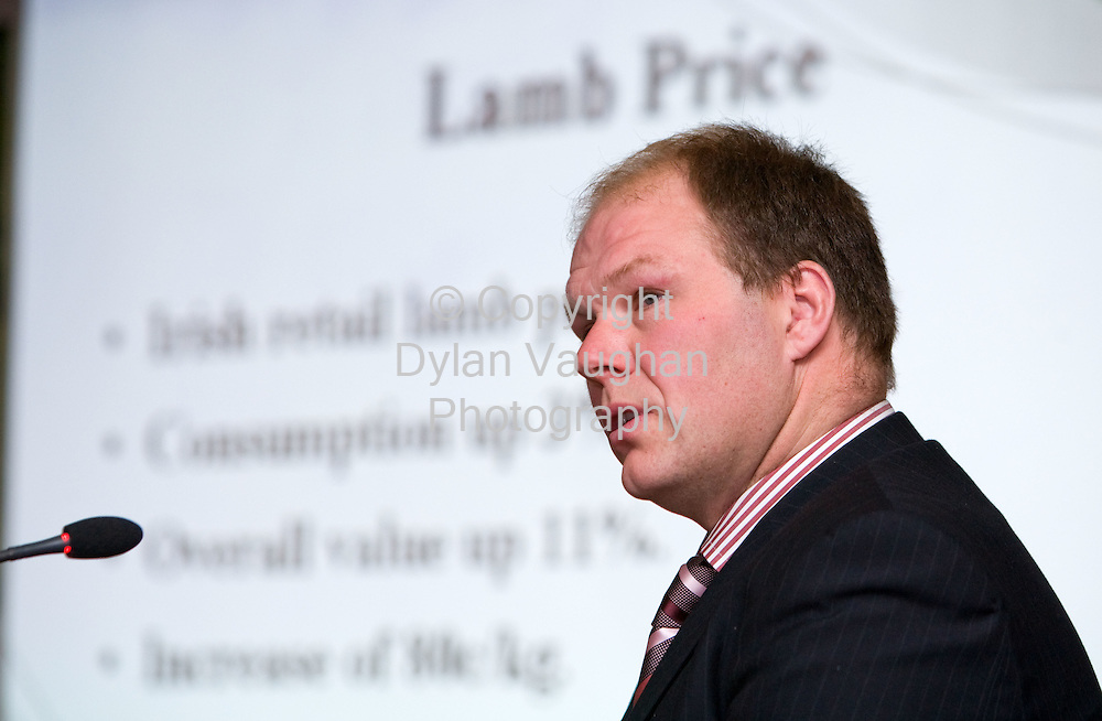 19/2/2008.free picture no charge for use.Pictured at the Teagasc National Sheep Conference 2008 at the Springhill Court Hotel was Henry Burns, chairman, IFA sheep committee..Picture Dylan Vaughan.