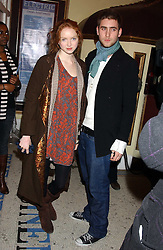 Model LILY COLE and OLIVER JACKSON at a special Grand Classic screening of Place Vendome to celebrate Catherine Deneuve as MAC Beauty Icon 3 held at The Elecric Cinema, Portobello Road, London W11 on 30th January 2006.<br /><br />NON EXCLUSIVE - WORLD RIGHTS