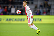 Ajax midefielder Vaclav Cerny (32) in action during a Florida Cup match against Flamengo at Orlando City Stadium on Jan. 10, 2019 in Orlando, Florida. <br /> Flamengo won in penalties 4-3.<br /> <br /> ©2019 Scott A. Miller