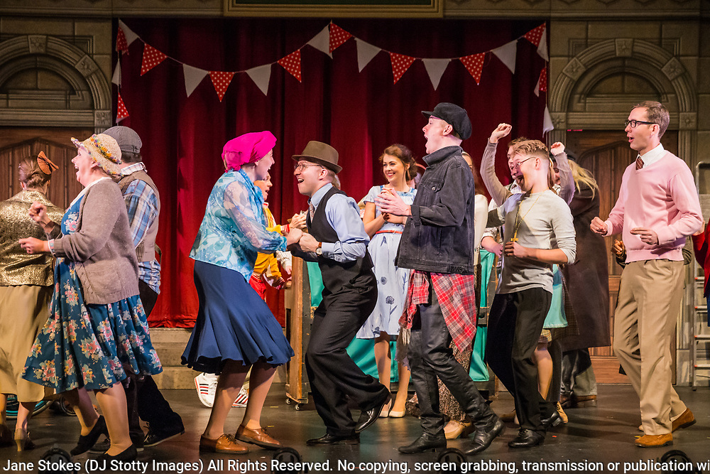 Dress rehearsal of The Sorcerer performed by the National Gilbert & Sullivan Opera Company with the National Festival Orchestra in Buxton Opera House, Buxton, England on Saturday 04 August 2018 Photo: Jane Stokes<br />
