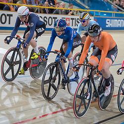 02-03-2018: Wielrennen: WK Baan: Apeldoorn<br />Kirsten Wild leidt na drie onderdelen in het Omnium