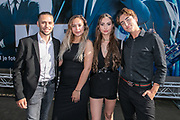 2019, June 17. Pathe ArenA, Amsterdam, the Netherlands. Maurice Namek, Birgit Kunstt, Kiek Katerina and Lucas Kamphuis at the dutch premiere of Men In Black International.