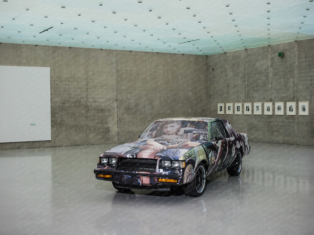 Richard Prince is an American painter and photographer, It's a Free Concert: Kunsthaus Bregenz
