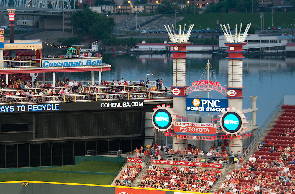 PNC Power Stacks at the Great American Ball Park