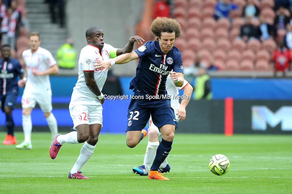 David LUIZ / Rio MAVUBA - 25.04.2015 - Paris Saint Germain / Lille - 34eme journee de Ligue 1<br />Photo : Nolwenn Le Gouic / Icon Sport
