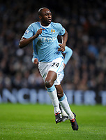 Patrick Vieira<br /> Manchester City 2009/10<br /> Manchester City V Bolton Wanderers (2-0) 09/02/10<br /> The Premier League<br /> Photo Robin Parker Fotosports International
