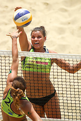 Mojca Pene during Beach Volleyball Slovenian National Championship 2016, on July 23, 2016 in Kranj, Slovenia. Photo by Matic Klansek Velej / Sportida