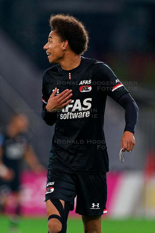 23-11-2019 NED: FC Utrecht - AZ Alkmaar, Utrecht<br /> Round 14 / Calvin Stengs #7 of AZ Alkmaar