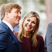NLD//Amsterdam/20160422 - Opening Koningspelen 2016, aaankomst Maxima en Willem-Alexander