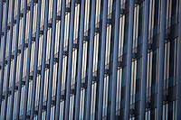 Detail of office building facade