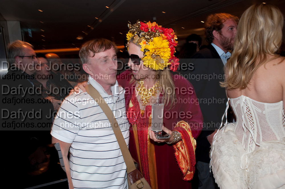 JASPER CONRAN; KATRINE BOORMAN, The after-party after the premiere of Duncan Ward&Otilde;s  film &Ocirc;Boogie Woogie&Otilde; ( based on the book by Danny Moynihan). Westbury Hotel. Conduit St. London.  13 April 2010 *** Local Caption *** -DO NOT ARCHIVE-&copy; Copyright Photograph by Dafydd Jones. 248 Clapham Rd. London SW9 0PZ. Tel 0207 820 0771. www.dafjones.com.<br /> JASPER CONRAN; KATRINE BOORMAN, The after-party after the premiere of Duncan Ward&rsquo;s  film &lsquo;Boogie Woogie&rsquo; ( based on the book by Danny Moynihan). Westbury Hotel. Conduit St. London.  13 April 2010