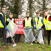 04.04.2017              <br /> ST. Munchins College, Corbally were out in force doing their bit for TLC3. Pictured are, Aron Calvert, Owen Minogue, George McInerney, Harry Bennis, Kevin Rea and Leon Rush. Picture: Michael Andrews