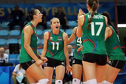Team Azerbaijan celebrate