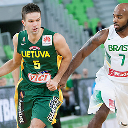 20140821: SLO, Basketball - Telemach Tournament, Brasil vs Lithuania