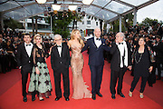 Jesse Eisenberg, Kristen Stewart, Woody Allen, Blake Lively and Corey Stoll , Vittorio Storaro and his wife   - 69TH CANNES FILM FESTIVAL 2016 - OPENING OF THE FESTIVAL WITH ' CAFE SOCIETY '<br /> ©Exclusivepix Media