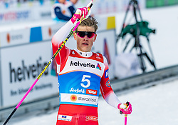 21.02.2019, Langlauf Arena, Seefeld, AUT, FIS Weltmeisterschaften Ski Nordisch, Seefeld 2019, Langlauf, Herren, Sprint, im Bild Johannes Hoesflot Klaebo (NOR) // Johannes Hoesflot Klaebo of Norway during the men's Sprint competition of the FIS Nordic Ski World Championships 2019. Langlauf Arena in Seefeld, Austria on 2019/02/21. EXPA Pictures © 2019, PhotoCredit: EXPA/ Stefan Adelsberger