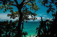 Secluded beach near Punta Uva, Costa Rica. Copyright 2017 Reid McNally.