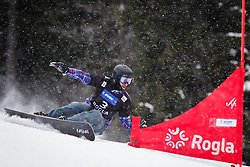 Vic Wild (RUS) competes during Qualification Run of Men's Parallel Giant Slalom at FIS Snowboard World Cup Rogla 2016, on January 23, 2016 in Course Jasa, Rogla, Slovenia. Photo by Ziga Zupan / Sportida
