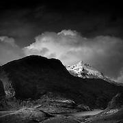 Sgùrr nan Gillean and Loch na Creitheach from Camasunary, Isle of Skye.