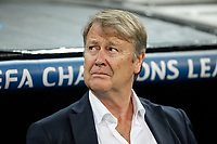 Malmo´s Age Hareide during 2015/16 Champions League soccer match between Real Madrid and Malmo at Santiago Bernabeu stadium in Madrid, Spain. December 08, 2014. (ALTERPHOTOS/Victor Blanco)