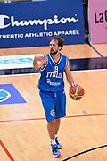 DESCRIZIONE : Trento Nazionale Italia Uomini Trentino Basket Cup Italia Olanda Italy Holland<br /> GIOCATORE : Giuseppe Poeta<br /> CATEGORIA : Palleggio Schema<br /> SQUADRA : Italia Italy<br /> EVENTO : Trentino Basket Cup<br /> GARA : Italia Olanda Italy Holland<br /> DATA : 11/07/2014<br /> SPORT : Pallacanestro<br /> AUTORE : Agenzia Ciamillo-Castoria/GiulioCiamillo<br /> Galleria : FIP Nazionali 2014<br /> Fotonotizia : Trento Nazionale Italia Uomini Trentino Basket Cup Italia Olanda Italy Holland