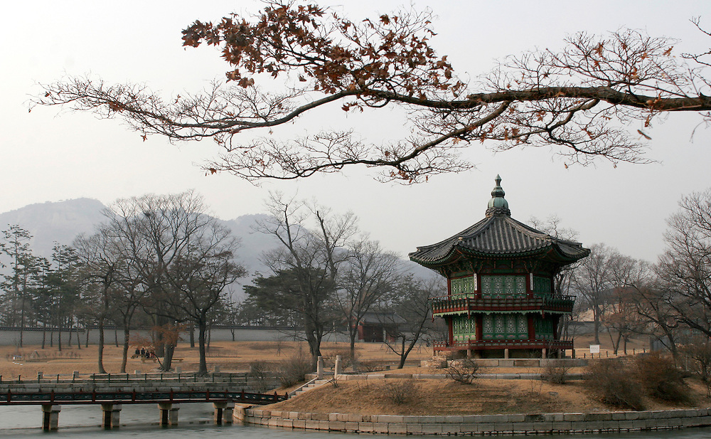 Gyeongbokgung Palace, Seoul, Korea. 2007