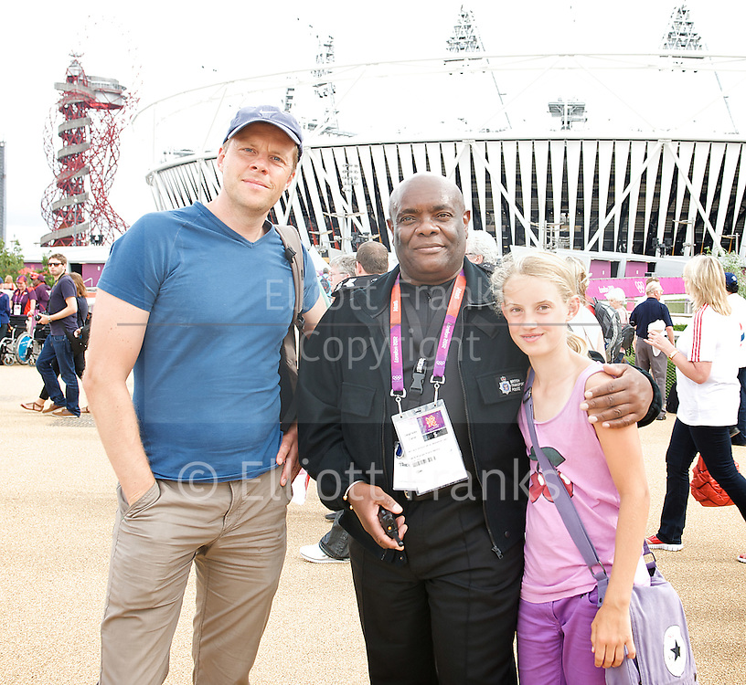 Sgt Keith Jarrett <br /> British Transport Police <br /> working in The Olympic Park during London 2012 <br /> Stratford, London, Great Britain <br /> 8th August 2012 <br /> <br /> Commissioned by Gary Moss <br /> for L Magazine <br /> ABCOMM<br /> 24-26 Great Suffolk Street <br /> London SE1 0UE<br /> Tel 020 922 5678 <br /> email mailto:gary.moss@abcomm.co.uk<br /> <br /> Photograph by Elliott Franks<br /> Contact<br /> 36 Newton Lodge<br /> West Parkside<br /> Greenwich<br /> London SE10 0BA<br /> Tel: 07802 537 220 <br /> email: mailto:elliott@elliottfranks.com<br /> web www.elliottfranks.com