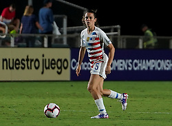 October 11, 2018 - Cary, North Carolina, United States - CARY, NC - OCTOBER 10: .Kelley O'Hara of USA.During CONCACAF Women's Championship Group A match between Trinidad and Tobago against USA at Sahlen's Stadium, Cary, North Carolina. on October 10, 2018  (Credit Image: © Action Foto Sport/NurPhoto via ZUMA Press)